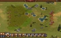 Troepen in een strategische veldslag
